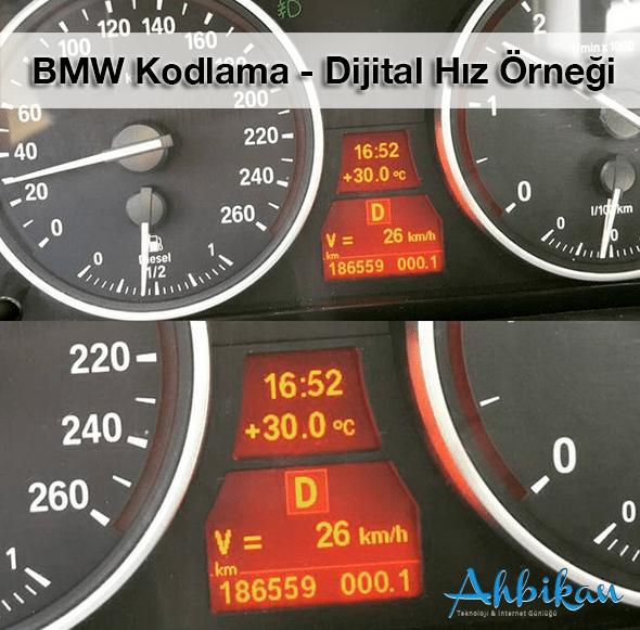 BMW Coding Digital Speedometer - Dijital Hız